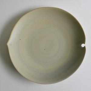 葉形皿(黄緑) / 杉原万理江