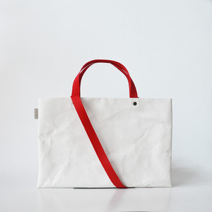 【N/no × E/zel.】SOME WAY LIGHT LESSON BAG P4(A4)_PP/RED