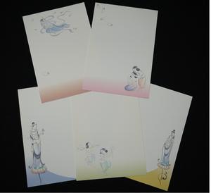 佳遊原画 オリジナルハガキセット(5枚組)