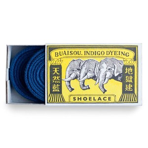 Buaisou Dark Indigo Shoelaces