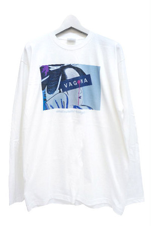 遊女 Long T-shirts (White)