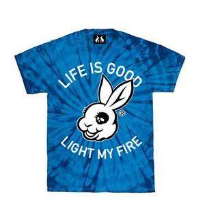UG LIFE IS GOOD Kids TieDye ROYAL BLUE