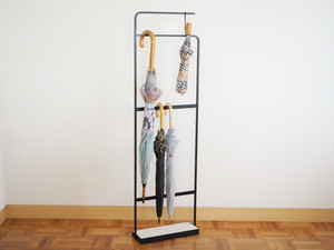 umbrella stand(珪藻土),アイアン傘スタンド(ブラック)