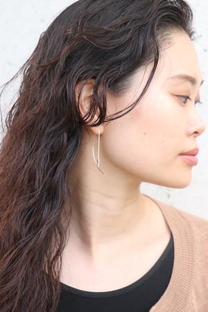 Arch -Silver- / Pierced