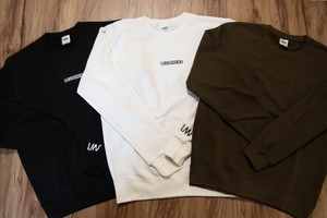 small logo sweat / black