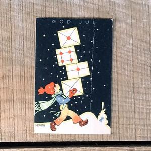 ミニ・クリスマスカード「Einar Nerman(エイナル・ネールマン)」《200224-02》