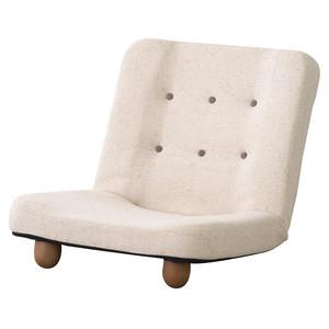 スマート 脚付き座椅子 Verner ヴァルナル 座椅子 布 西海岸 インテリア 雑貨 西海岸風 家具