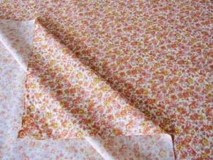 PO-704オレンジフラワー 50x110cm