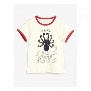 【20AW pre】 minirodini ( ミニロディーニ )  Octopus ss tee Tシャツ