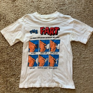 DIEGO / VINTAGE CLOTHES // T-SHIRT // THE FART