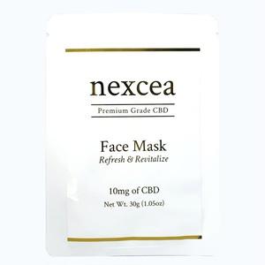 nexcea CBD10mg フェイスシートマスク(1枚)