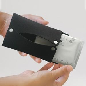 ポケットティッシュケース〈黒色〉