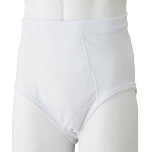 安心快適ブリーフ(2枚組) 吸水量40CC ホワイト【失禁パンツ 中失禁用】