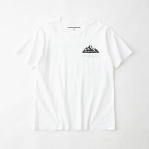 POCKET PRINTED T-SHIRT - WHITE