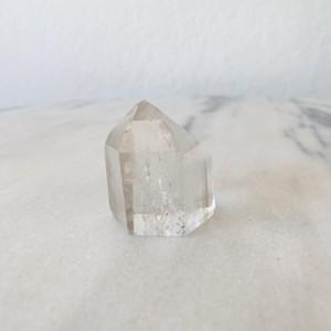 クリスタル タワー型 ヒーリングインテリア クリアクオーツ 天然石