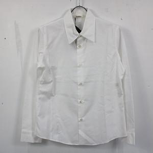 【美品】LIMI feu / リミフゥ | YOHJI YAMAMOTO コットンワイドカラーシャツ | S | ホワイト | レディース