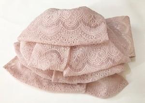 ピンクレースのふわふわ帯【作り帯】