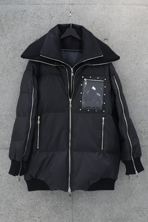 Frame Down Jacket [Black]