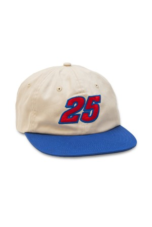 QUARTER SNACKS RACER CAP NATURAL ROYAL