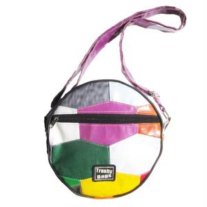 野外広告のパッチワークバッグB / Recycled Patchwork Bag B