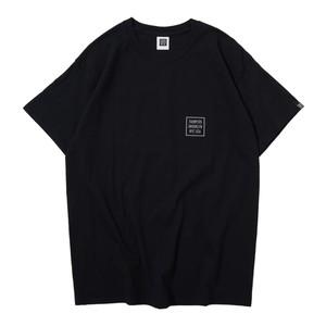 LOGO S/S TEE(BLACK)[TH9S-009]