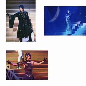 三日月宗近/黒羽麻璃央 2部衣裳 ミュージカル『刀剣乱舞』 公式ファンサイトプレミアム会員限定ブロマイド