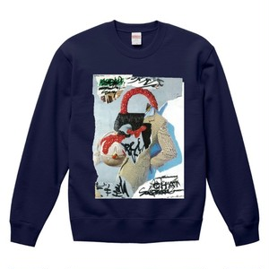 """dib""【Realistic virtual】GRAPHIC SWEAT SHIRT"