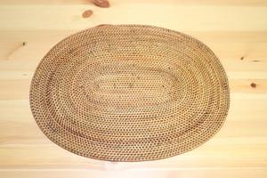 ~バリ発雑貨~アタの楕円形ランチョンマット