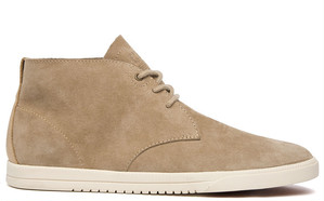 【CLAE】STRAYHORN UNLINED - MOHAVE PIG SUEDE