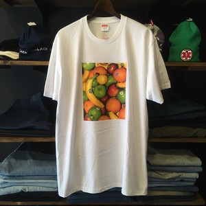 【SUPREME】 -シュプリーム-SS19 FRUIT TEE WHITE
