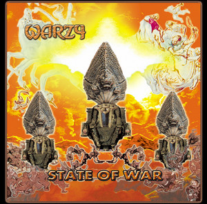 WARZY『STATE OF WAR』Digipack CD