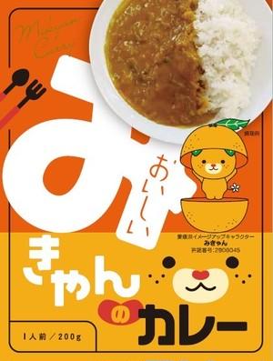 【送料無料】みきゃんのカレー(5個セット)