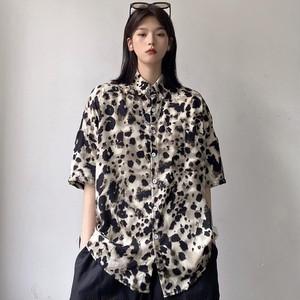 【トップス】暗黒系カジュアルストリート系ファッションプリントシャツ45094765
