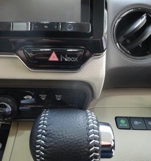 HONDA 新型 NBOX JF3/4 専用 ハザードボタン・カバー シートカスタマイズアピールシート メッキバージョン