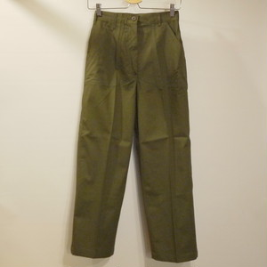 "U.S.Military 1970's OG507 Slacks Size10S27 ""Dead stock"""