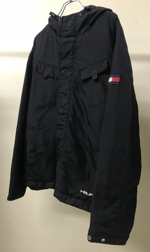 1990s TOMMY HILFIGER HOODED JACKET