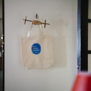 フルーツ・レーベル・トラヴェラー|Fruit Labels Traveler, Tote Bag