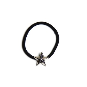 CONSIGLIERE/コンシリエーレ Silver star hair band-BK