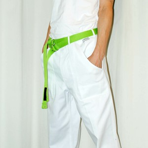 『SOK KYO』 OBI-BELT[MIJIKAME] Lime Green