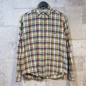 A BATHING APE タータンチェックシャツ