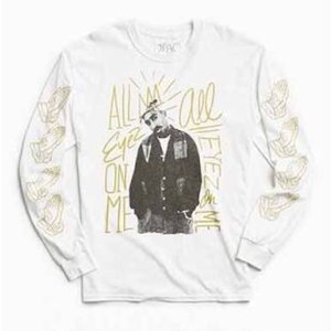 "2PAC ""ALL EYEZ LONG SLEEVE TEE"""