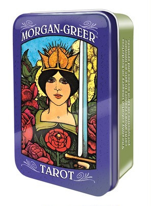 MORGAN-GREER TAROT in a Tin(缶入り)