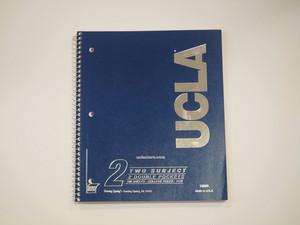 品番UN-002 UCLAノート / UCLA Notebook