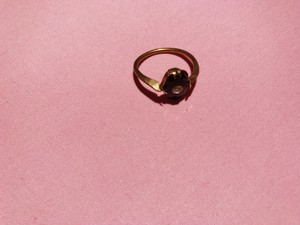 "Travelling Madeleine - ring - "" Black """