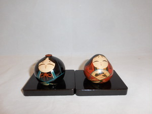大内雛人形 Mini Ouchi Hina dolls(No2)