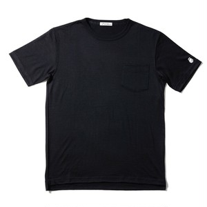 WOOL-BASE-Tshirt ブラック