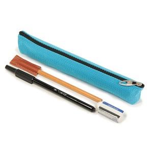 新品の鉛筆や筆ペンも入る長ーいペンケース  ロング三角ペン
