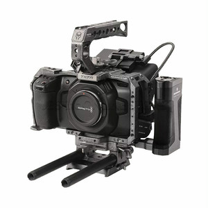TILTA Camera Cage for BMPCC 4K – Tactical Kit (Tactical Finish)