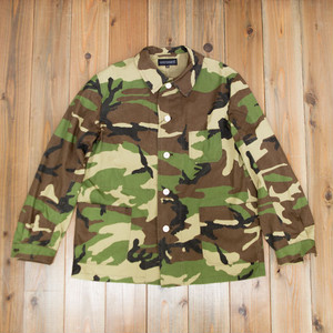 COOCHUCAMP : Happy shirt jacket / camo