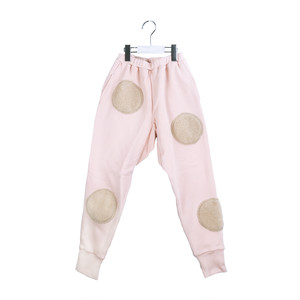 UNEVEN BOA DOTS SWEAT PANTS / WOMEN